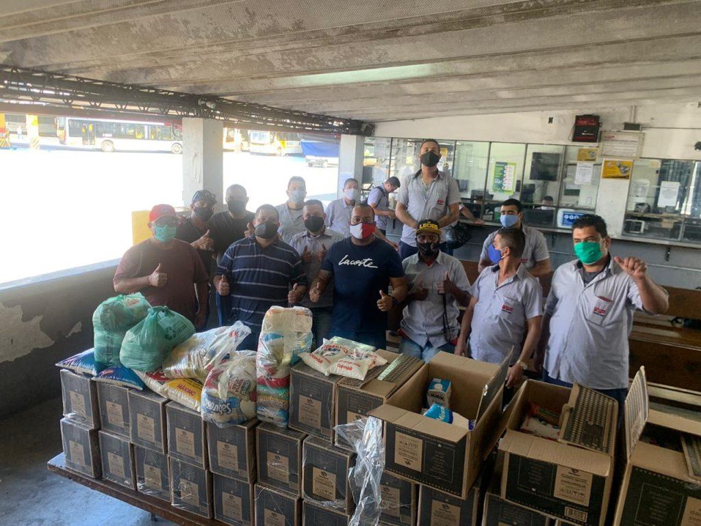 Trabalhadores da Metrópole Paulista arrecadam 100 cestas básicas que serão destinadas às famílias em situação de vulnerabilidade social