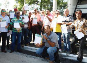 Campanha Salarial: luta dos condutores se estende para os terminais e pontos de ônibus