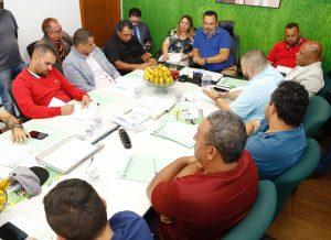 Reunião da Executiva prepara transição para a nova diretoria