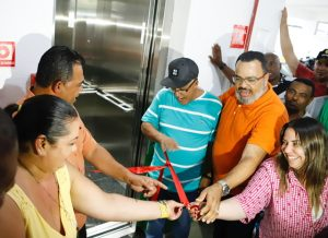 Inaugurado o elevador da Colônia de Férias de Praia Grande
