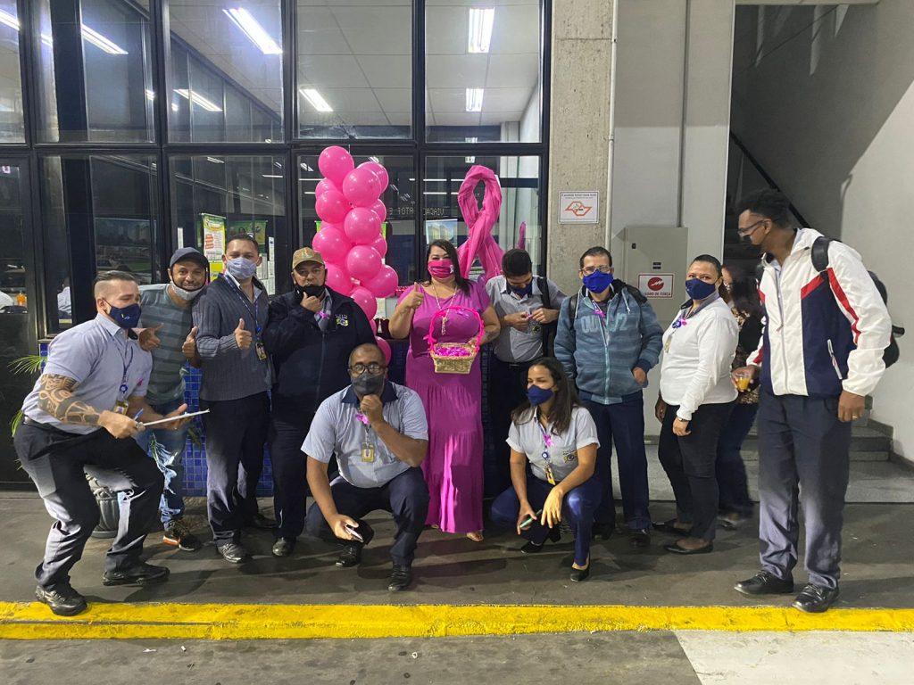"""""""Outubro Rosa"""" é tema de encontro com trabalhadoras da Gato Preto G3"""