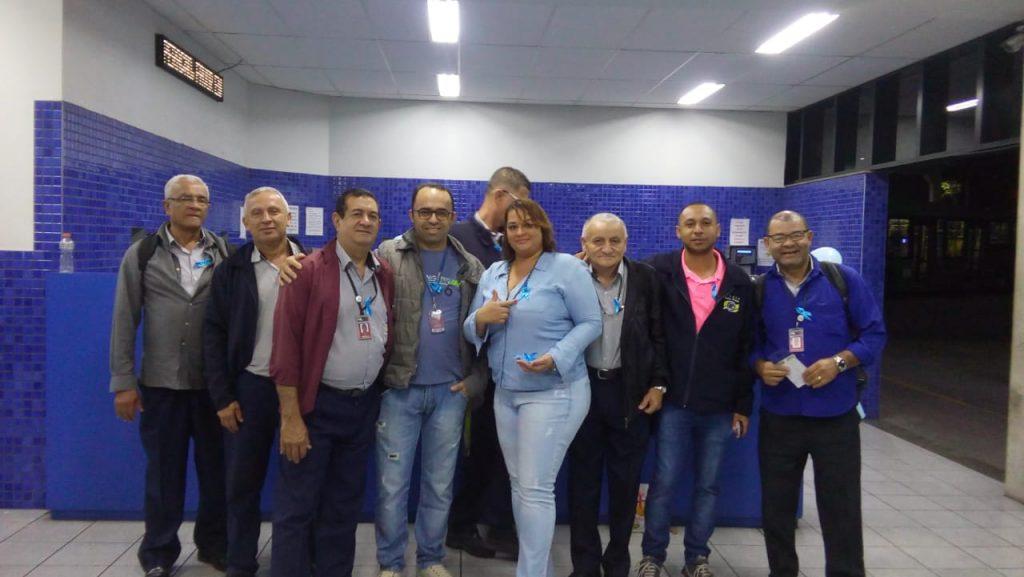 """Comissão das Mulheres leva """"Novembro Azul"""" às garagens de ônibus"""