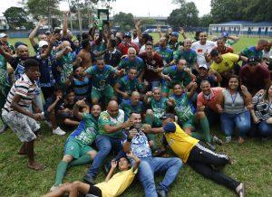 Campeonato de Futebol dos Veteranos do Sindmotoristas já tem seu campeão: SAMBAÍBA G3