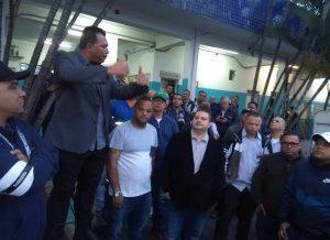 Presidente do Sindmotoristas faz visita aos trabalhadores da Metrópole Itaim