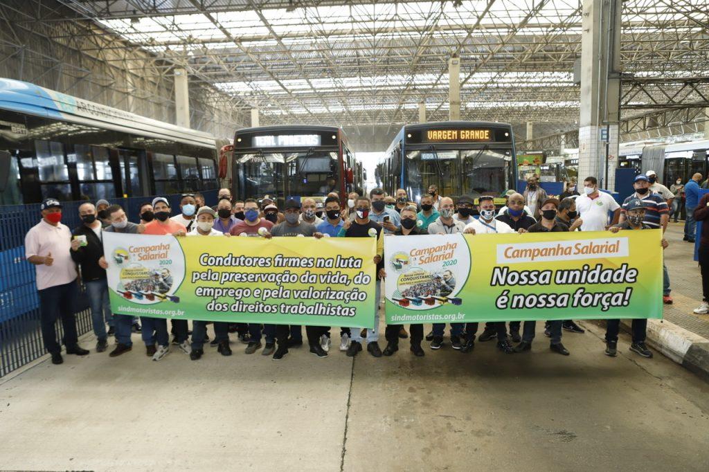 Campanha Salarial: Sindmotoristas realiza manifestações em terminais de ônibus da Capital paulista