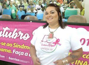 Secretária da Mulher do Sindmotoristas é vítima de fakenews