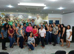 """Coordenação das Mulheres realiza reunião preparatória do """"Outubro Rosa"""""""
