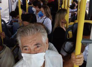 Fase de Transição em São Paulo aumenta lotação nos ônibus