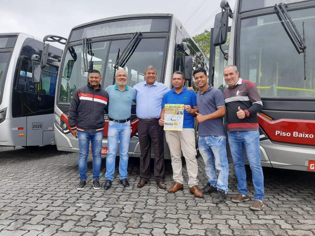 Na entrega dos novos ônibus da Gatusa, Sorriso pediu mais investimentos e qualificação ao trabalhador em transporte