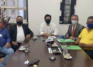 Presidente Valdevan Noventa se reúne com vice-prefeito de São Paulo
