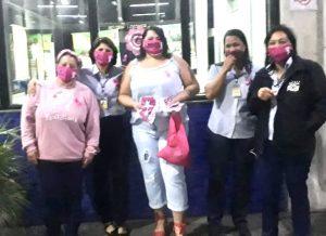 Dia de conscientização do Outubro Rosa na Gato Preto G3