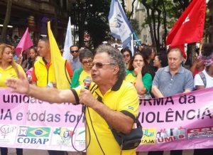 Sindmotoristas participa de novo protesto contra a Reforma da Previdência