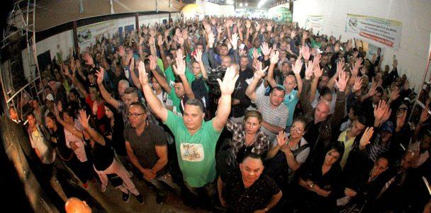 Assembleia leva 6 mil condutores ao CMTC Clube