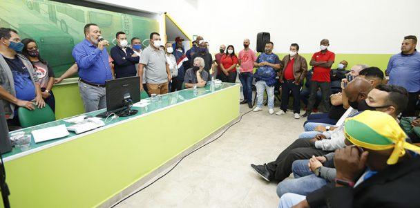 Sindmotoristas inaugura novas instalações da Subsede Sul