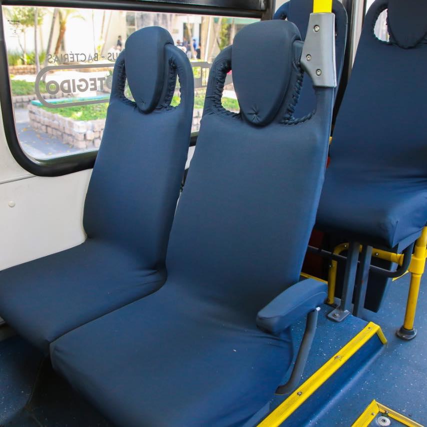 Osasco terá ônibus com tecido contra Covid-19. Cidade consegue na Justiça ficar na fase amarela