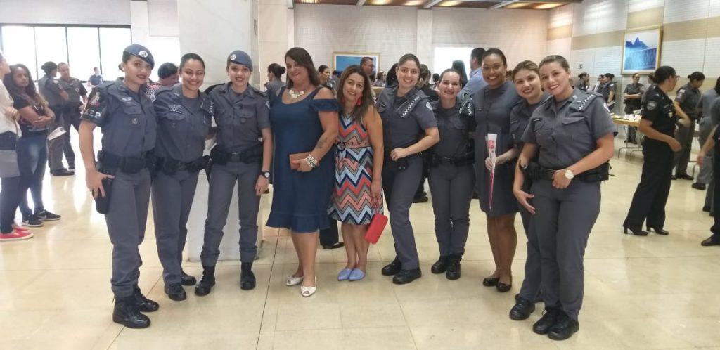 Sindmotoristas prestigia homenagem às policiais militares no Dia Internacional da Mulher