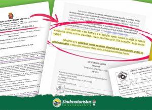 Campanha Salarial 2021: Vigilância Sanitária notifica e proíbe Sindmotoristas a realizar assembleias