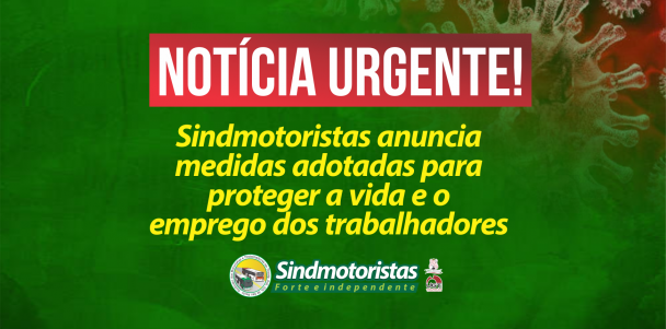 Sindmotoristas anuncia medidas adotadas para proteger o emprego e a vida dos trabalhadores