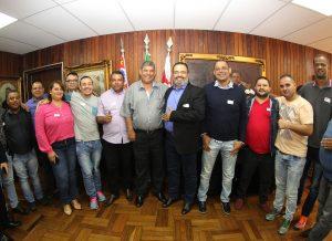 Presidente da Câmara de São Paulo parabeniza diretoria eleita do SINDMOTORISTAS