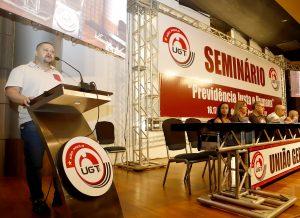 """Condutores participam do Seminário """"Previdência Justa e Humana""""  promovido pela UGT-SP"""