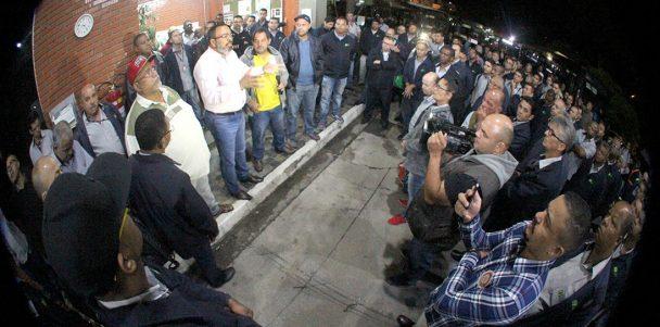 """Nas garagens, assembleias dos condutores dão início ao Dia Nacional de Luta Contra a Reforma da Previdência e Outras Ameaças"""""""