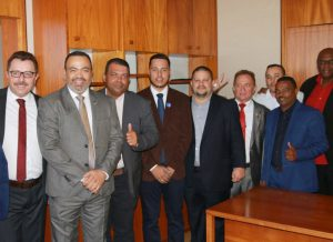 Diretoria do Sindmotoristas prestigia posse do  deputado Valdevan Noventa, em Brasília