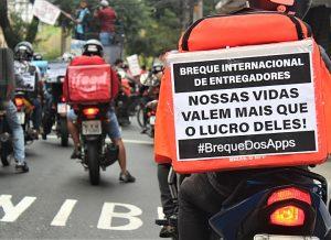 Desemprego leva 32 milhões de brasileiros a trabalhar mais e ganhar menos com APPs