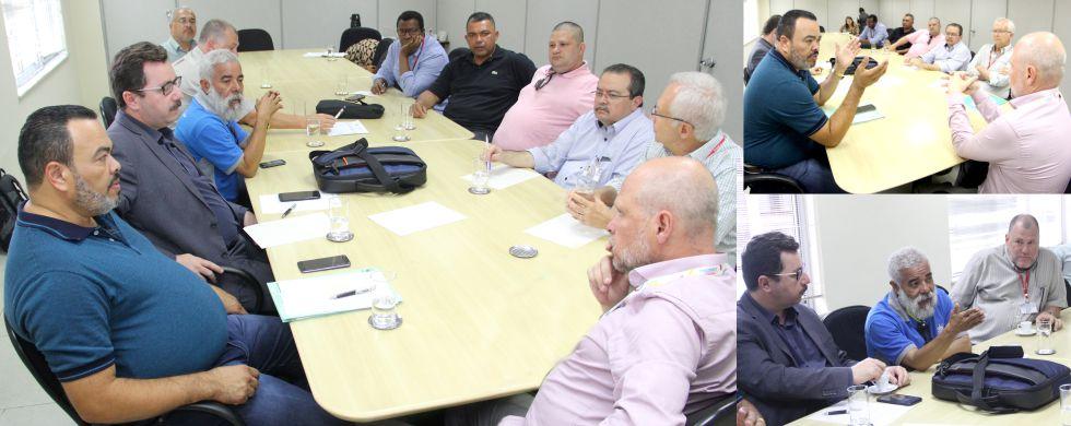 Dirigentes do Sindicato discutem pauta dos trabalhadores  com o Secretário Municipal de Transportes