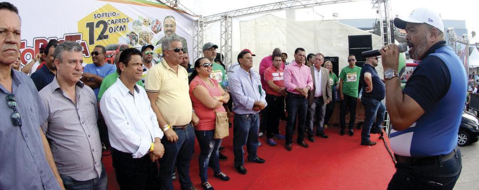 Personalidades políticas e sindicais prestigiaram a Festa do  Dia do Motorista e dos Trabalhadores(as) em Transportes de SP