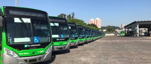 Santa Brígida incorpora 30 novos ônibus à frota da capital, com Wi-Fi e ar-condicionado