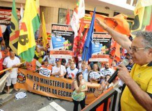 SP: Protesto na Superintendência do Trabalho repudia fatiamento do MTE