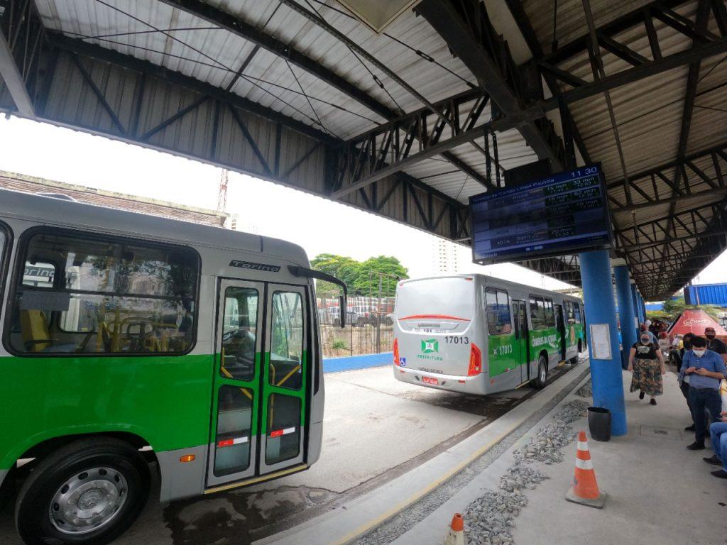 Reforma do terminal de ônibus de Campo Limpo Paulista (SP) tem previsão de entrega para novembro