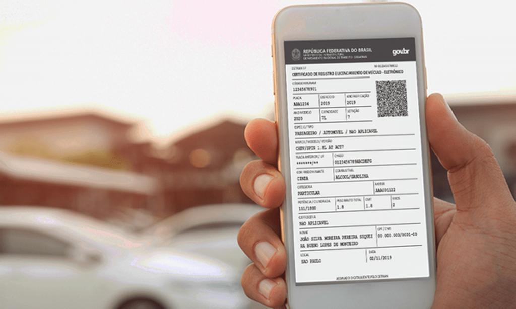 Documentos de registro e transferência de veículos passam a ser 100% digitais