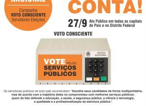 Dia Nacional do Voto Consciente: participe das mobilizações!
